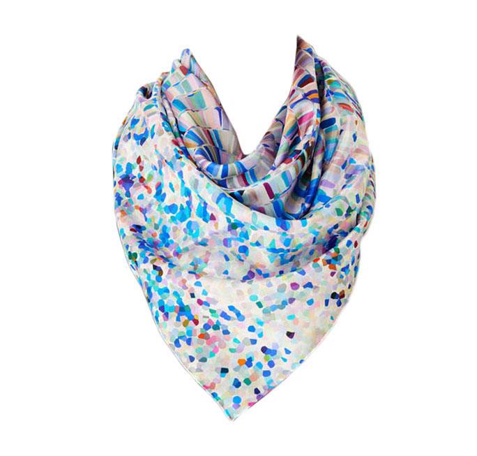 Шелковые туаль шарфов Производители